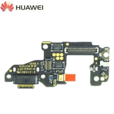 Ecran lcd avec vitre tactile ORIGINAL Huawei P30 noir