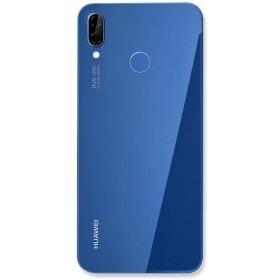 Nappe flex bouton home pour Huawei P Smart 2019 bleu