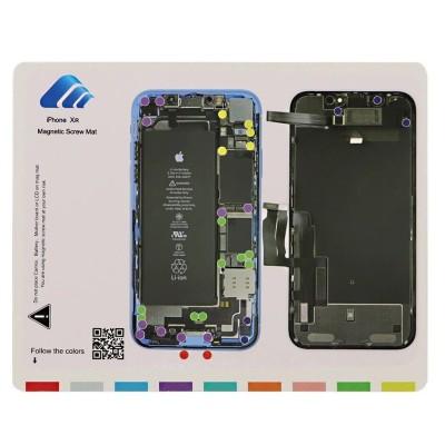 Vitre avec contour bleu pour appareil photo pour Samsung A105 Galaxy A10